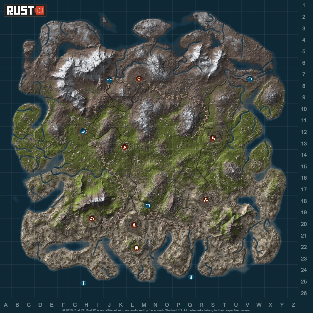 Rust Game Map Hapis Island