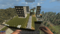 Some screenshots from the server - city being rebuild by players